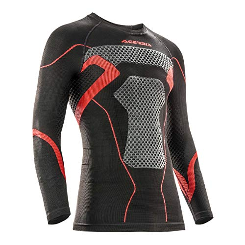 Tricot X-Body Winter Jersey ML Noir/Rouge L/XL