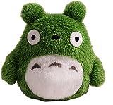Beanbag Mein Nachbar Totoro (Ghibli) Funwari Otedama Stofftier Plüsch Figur Kuscheltier: O Totoro (Miminzuku) Grün 10 cm