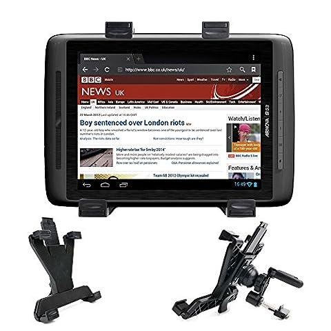 Support de fixation voiture grille d'aération 360° pour tablettes tactiles