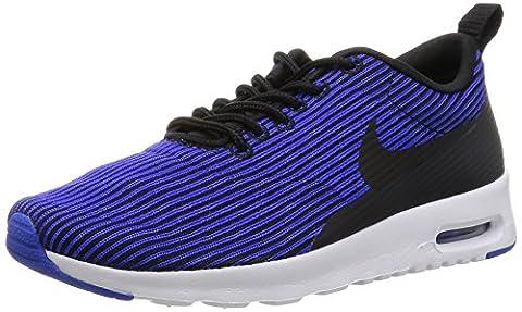 Nike Damen W Air Max Thea Kjcrd Turnschuhe, Black (Schwarz / Schwarz-Racer Blau-Weiß), 38 1/2 EU