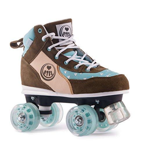BTFL Rollschuhe für Damen und Mädchen/Discoroller / Rollerskates Trends Maggy (EU: 38)