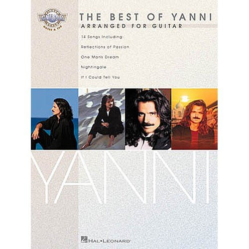 The Best Of Yanni: Arranged For Guitar. Partitions pour Tablature Guitare(Symboles d'Accords)
