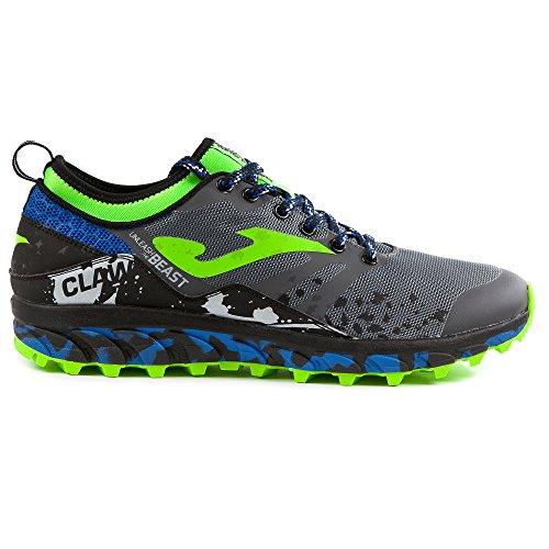 Joma TK. Claw 712 - Scarpe Trail Running Uomo - Grigio - Taglia EU 43 - UK 8.5 - cm 28