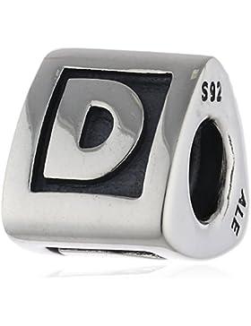 Pandora Damen-Bead  Sterling-Silber 925 Buchstabenelement