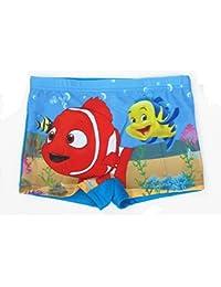 ChenStarUK Bañador para niños Bañador para niños superhéroe, para 6–12años Nemo XXL (9-12Years)