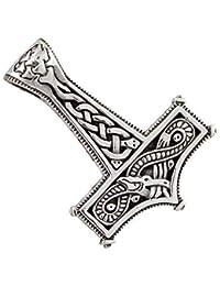 Martillo de Thor colgante de plata 925