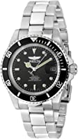 Invicta 8926OB Pro Diver Unisex Wrist Watch Stainless Steel Automatic Black Dial