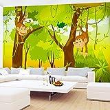 Fototapeten Kinderzimmer Affen Dschnungel 352...Vergleich