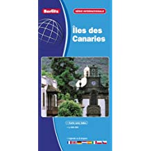 Carte internationale Berlitz, numéro 681003: Iles des canaries
