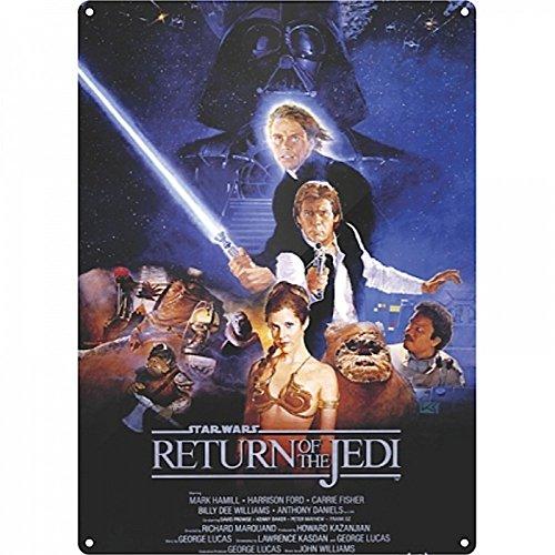 STAR WARS-A3Targa-Guerre stellari-il ritorno dello Jedi