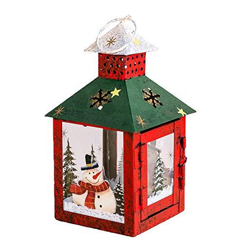 Frohe Weihnachten!!! Windlicht Kerzenhalter Weihnachten Ornamente Schneemann Weihnachtsmann Drucken Dekoration Weihnachtsbeleuchtung Kerzenständer Handwerk Home Decor Von LSAltd -