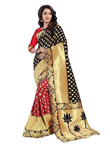 Shivalika Tex Women's Jacquard Cotton Sarees