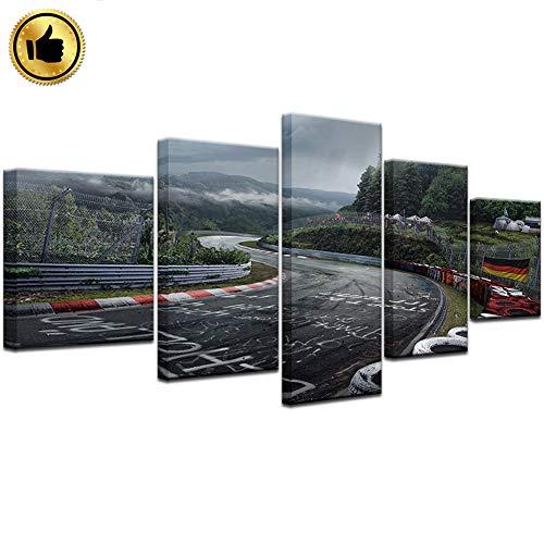 ZHAONI Cuadro Popular Impresión De 5 Piezas