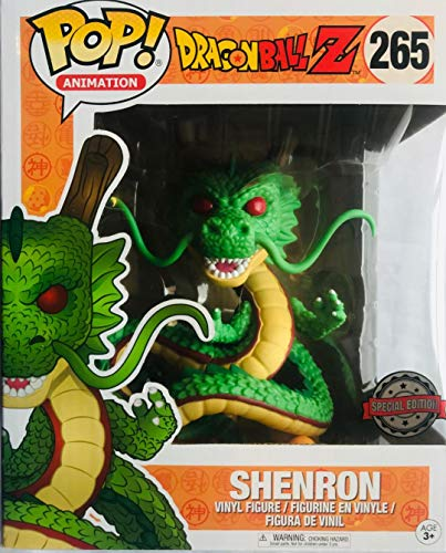 Funko - Figurine Dragon Ball Z - Shenron Oversized Exclu Pop 15cm - 0889698142922