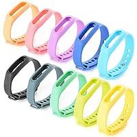 XCSOURCE 10PCS Replacement Bracelet Wrist Strap Wrist Band w/ Clasp