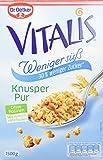 Dr. Oetker Vitalis Weniger Süß Knusper Pur, 2er Pack (2 x 1.5 kg)