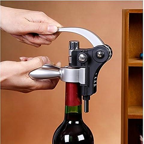 codinex (TM)–Coniglio stile Cavatappi Apribottiglie multifunzione per vino rosso Utensili da cucina in acciaio inox