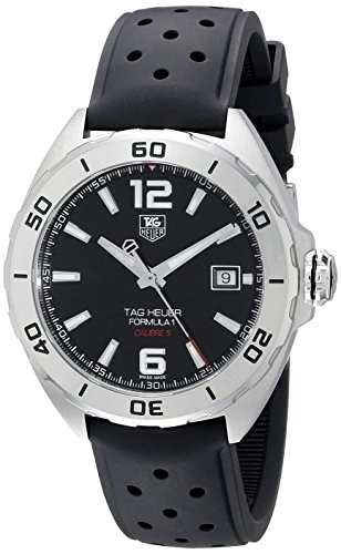 Tag Heuer uomo WAZ2113.FT0823analogico display svizzero orologio automatico nero