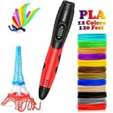 DigiHero 3D Pen for Kids,Toys for Kids 3D Pen with 1.75mm PLA Filament