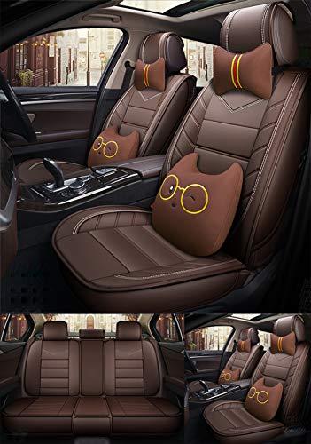 Preisvergleich Produktbild Sommersaison Auto 3 D Leder Sitzbezug 5 Plätze 4 Jahreszeiten Allgemeiner Zweck All Inclusive Sitzbezug, DDD