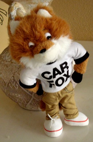 Show Me the Car Fax Car Fox Plush - 10 Inches Tall by CARFAX