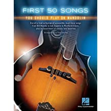 First 50 Songs You Should Play on Mandolin by Fred Sokolow (2016-06-01)