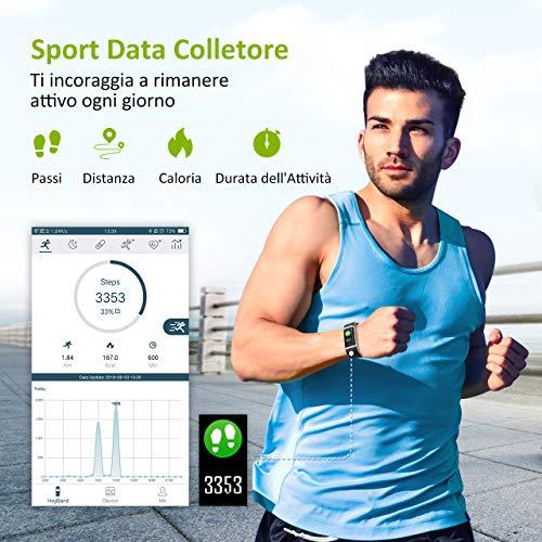 Zoom IMG-2 mpow fitness tracker ip67 schermo