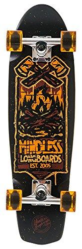 Mindless Longboards Mindless Campus IV Longboard, Unisex Adulto, Orange, Talla Única