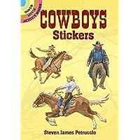 Cowboy Stickers (Dover Little Activity Books) (Dover Little Activity Books Stickers)