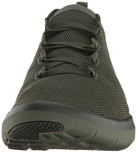 Under Armour Charged Coolswitch Run Uomo Sneaker Nero KHAKI|GREEN