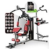 Sportstech HGX200 Multiestación musculación Premium 45en1 Sirve para...
