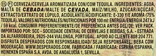 Desperados Beer Pack of 6 Bottles x 250 ml -Total: 1.5 L