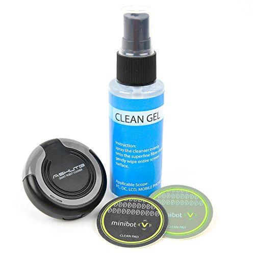 Preisvergleich Produktbild DuraGadget Reinigungsroboter | Cleaning Robot | Bildschirmreinigung - Schwarz - für Nintendo Switch Konsole