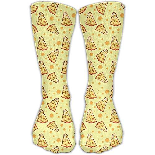 Meius Unisex atmungsaktive Socken aus Baumwolle für Pizza Käse Knöchelstrümpfe Sportsocken