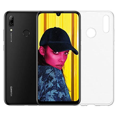 Foto Huawei Psmart 2019 (Nero) più esclusiva cover trasparente, Telefono con 64...