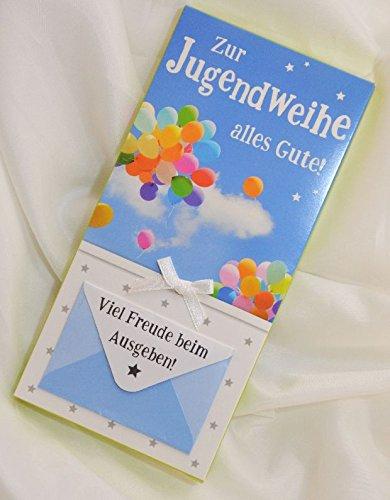 Geschenk Schokolade Zur Jugendweihe kaufen mit Umschlag, 1 Tafel Schokolade, 100 g  Geschenk Schokolade Zur Jugendweihe kaufen mit Umschlag, 1 Tafel Schokolade, 100 g 51ChTU 2BtBgL