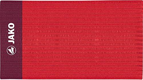 JAKO Erwachsene Kapitänsbinde Classico Rot, 35 x 9.0 cm
