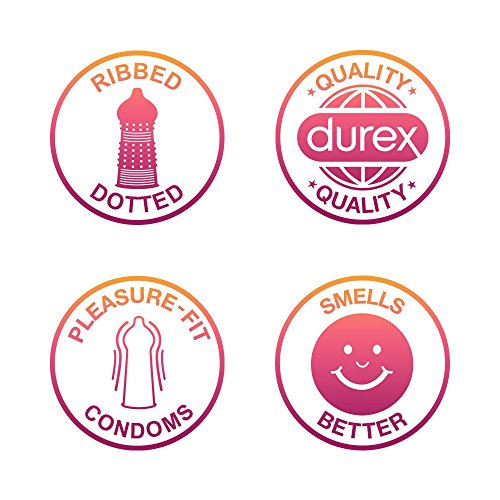 Durex Pleasure Me Condoms - Pack of 20