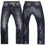 Rokker Red Selvage Motorrad Jeans Hose 32 L32