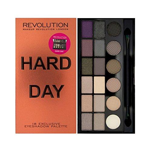 Makeup Revolution London Hard Day Palette Ombre à Paupières 13 g