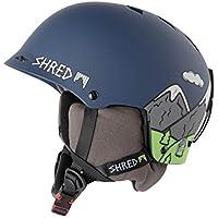 Shred Half Brain D de Lux Need More Snow–Casco de esquí, snowboard, Otoño-invierno, unisex, color azul, tamaño XS/S(M-)