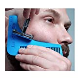 EasyBuy India 1PCS Beard Bro Beard Shaping Tool Gentleman Sex Man Beard Trim Template Hair Cut Molding Trim Template Beard Modelling KC1383