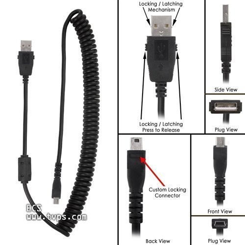 Executive Communication Systems Philips Speechmike Premium und Touch-Replacement Tangle freien USB-Curly-Schnur-Kabel