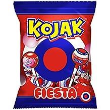 Kojak Fiesta Caramelo con Palo Sabor Cereza - 105 g