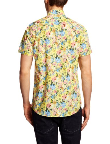 Selected Homme - Chemise - Homme Multicolore (Yellow)