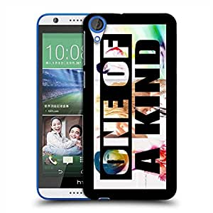 Snoogg One of a Kind Designer Protective Back Case Cover For HTC Desire 820