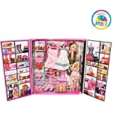 Smiles creation Party Girl Doll and Her Personal Style Wardrobe Set Toy for Kids