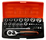 Best Socket Sets - Bahco SL25 Socket Set 25 Piece 1/4 Inch Review