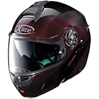 Casque modulable X-lite x-1004 Ultra Carbon Nuance N-COM Casque – 8 carbon Nuance Red Taille XL