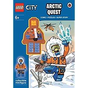 LEGO CITY: Arctic Quest Activity Book with Minifigure 9780141357225 LEGO